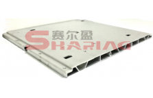 Power battery aluminum support